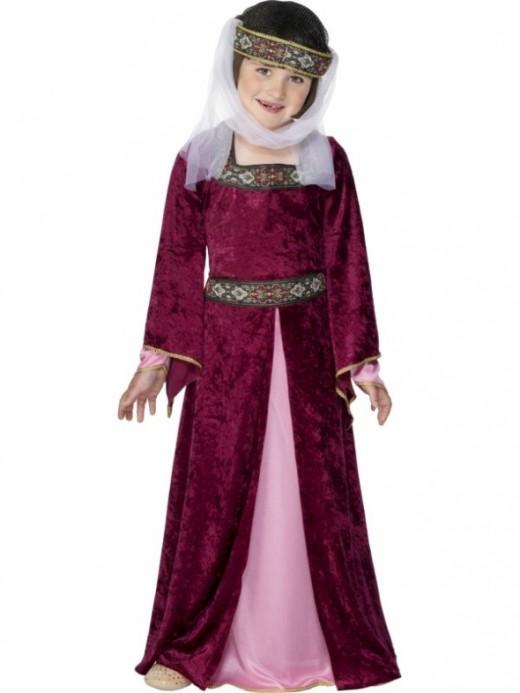 Tudor Rich Girls Costume