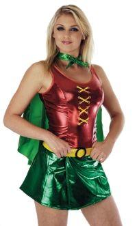 Lady Robin (& Batman Costume)