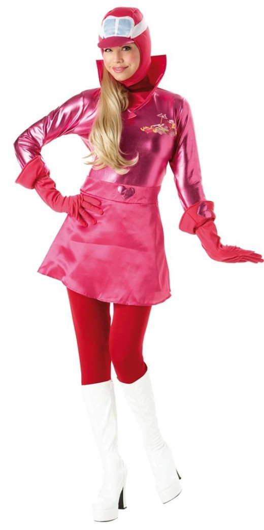 Penelope Pitstop (and Dick Darstardly Costume)
