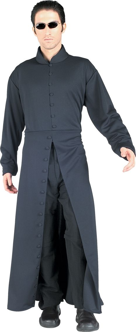 Neo (and Trinity) Matrix costumes
