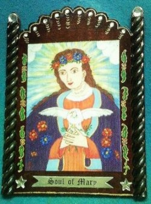 Soul of Mary Retablo