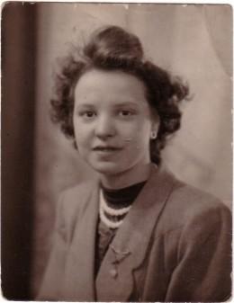 Birth mother taken in 1952
