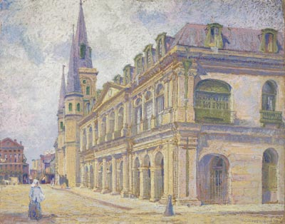 1904 painting by William Woodward, courtesy of Wikimedia Commons
