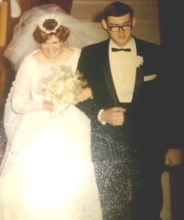 Our wedding Day 6/24/67