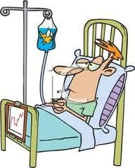 3 weeks in hospital bed - needs some humor