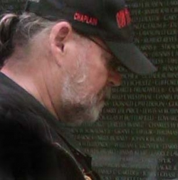 My husband at Vietnam Wall