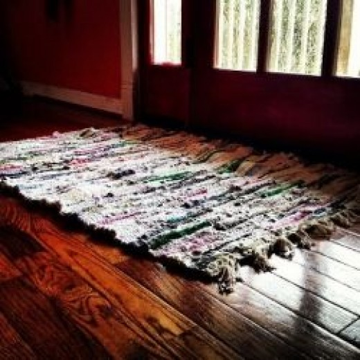 First Rag Rug Owner's Home