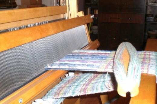 My loom gets the room.