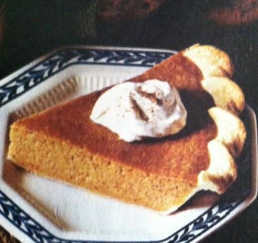 Who doesn't enjoy pumpkin pie?