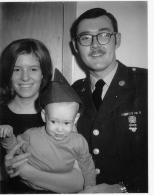 Our little US Army family 1970