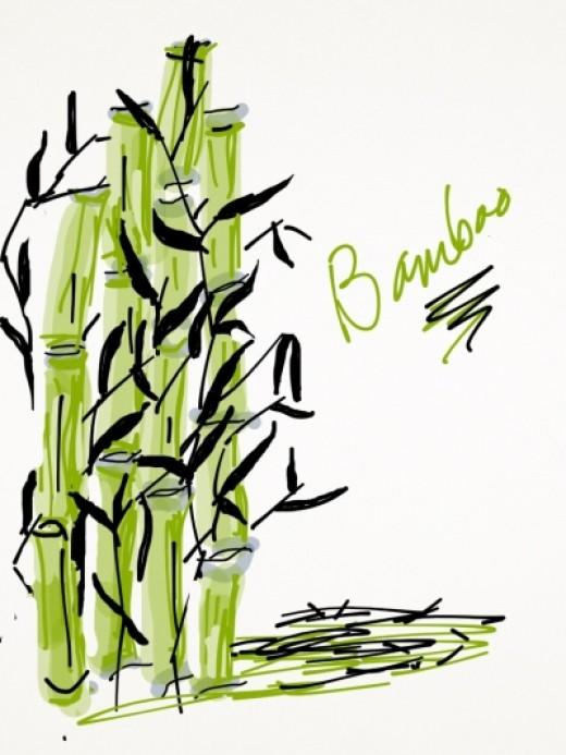 The Original Bamboo Painting