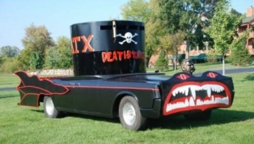 Delta Tau Chi's Deathmobile