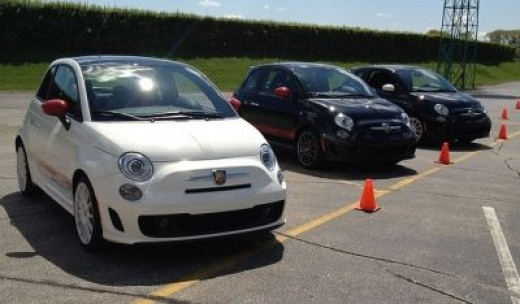 The Fiat 500 Abarth