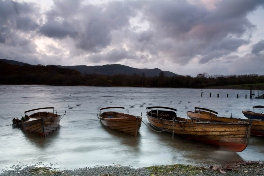 Derwent Water in the English Lake District. A 30-second exposure on a tripod!Taken during a workshop with Tom Mackie.