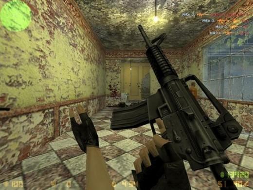 Counter Strike 1.6 screen shot