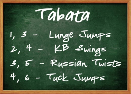 Tabata Workout Sample