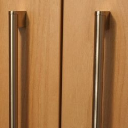 Replacement kitchen door handles can make a big difference