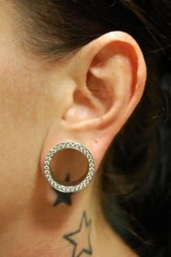 Ear Stretching (commonly know as gauging)