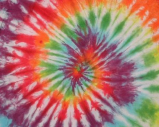 Tiedye is another way to color cloth