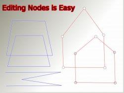 GIMP 2.8 Pen Tool tutorial editing nodes