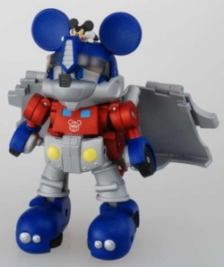Mickey Mouse Optimus Prime.