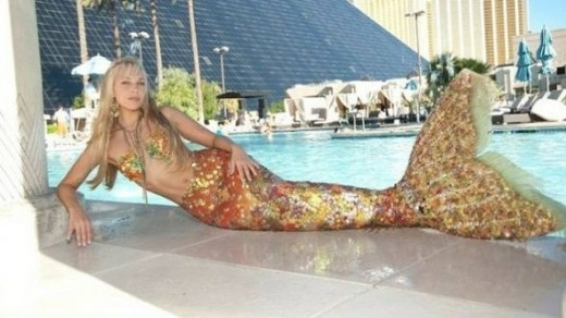 Mermaid in The Real World