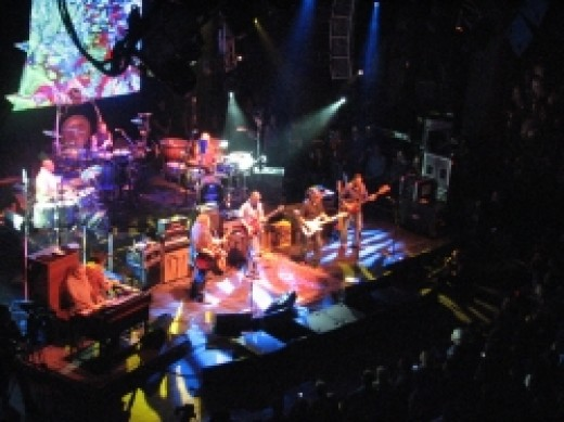 The Allman Brothers Band at the Beacon Theater with Eric Clapton March 20 2009