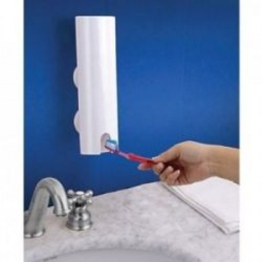 Essential items: Hands Free Toothpaste Dispenser