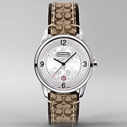 Classic Signature Strap Watch