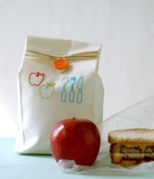 Make your own lunch bag; pattern and tutorial!!!