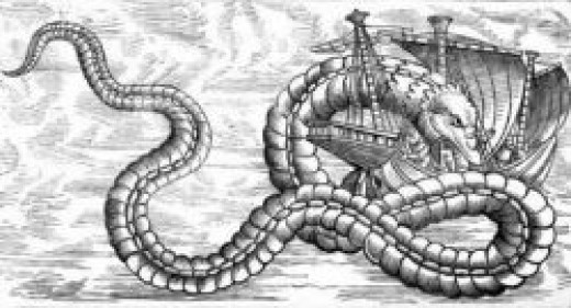 Dragon or Serpent of the Sea