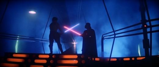 Luke v Darth Vader