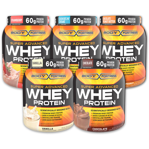Body Fortress whey protein.  If you love yourself, you will never, ever buy this.