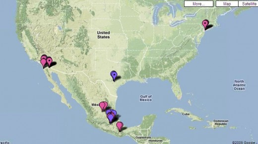 Google Swine Flu Tracker Map  (Please add Kansas and Minnesota...)