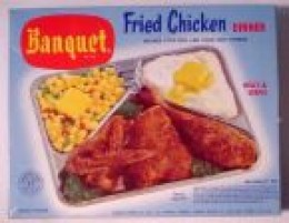 Vintage TV Dinner...they've come along way, baby!