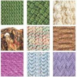 Different Knitting Stitches For Loom : Loom Knitting Stitches