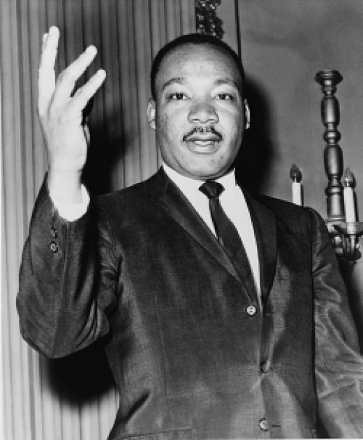 Martin Luther King Jr.; Library of Congress