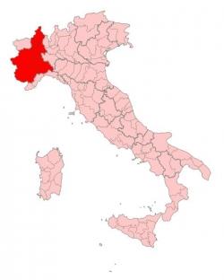 Piedmont region of Italy