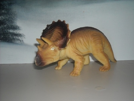 Here's everybody's favorite the Triceratops.