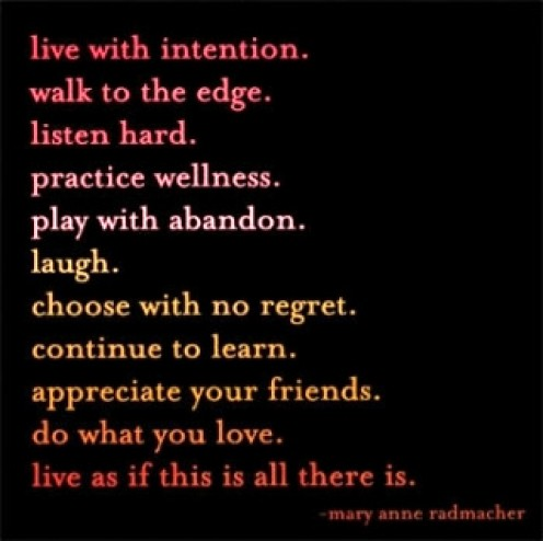 Live and be well!