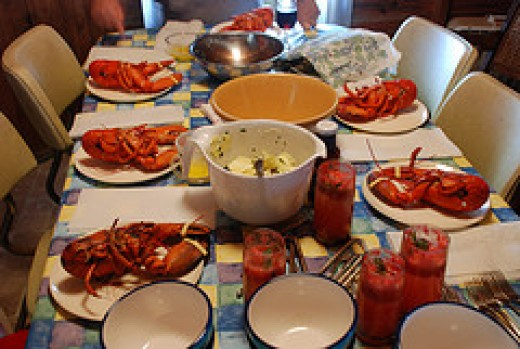 courtesy: Lobster Dinner by Joe Shlabotnik, flickr
