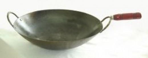 Round Bottomed Wok
