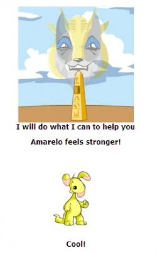 Amerelo's strength just went up!