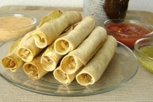 Taquitos made from scratch