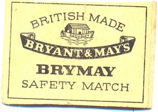 Bryant and May Matchbox