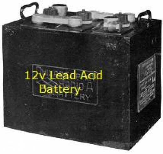 Old style 12v battery