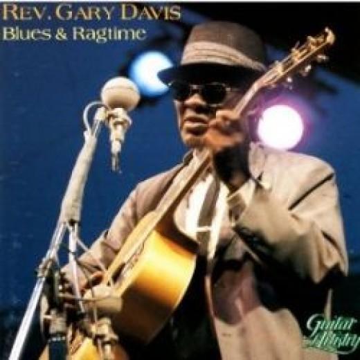 Reverend Gary Davis - Image Courtesy of Amazon