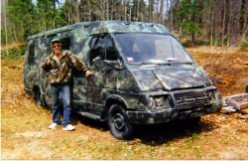 Camovan - The Woods Winnebago