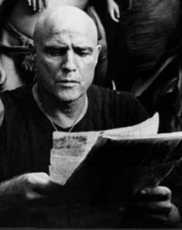 Marlon Brando as Colonel Walter E. Kurtz