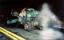 Car Crash Ghost